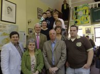 Ashe Family members in Dingle Library for 90th Anniversary