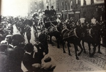 Thomas Ashe funeral along the North Quays of Dublin