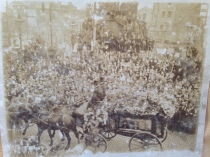 Thomas Ashe funeral on way to Glasnevin Cemetery
