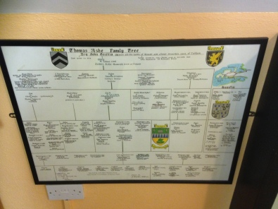 Ashe Family Tree in Dingle Library
