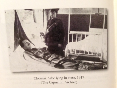 Thomas Ashe lying in state, 1917