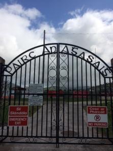 Thomas Ashe Commemorative Gates at Dingle GAA