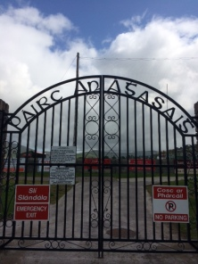 Thomas Ashe Commemorative Gates at Dingle GAA