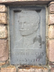 Thomas Ashe Commemorative Plaque at Dingle GAA