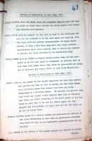 RIC notes on Thomas Ashe speech at Ballinalee 25th July 1917