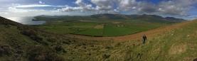 Climbing Kinard Hill