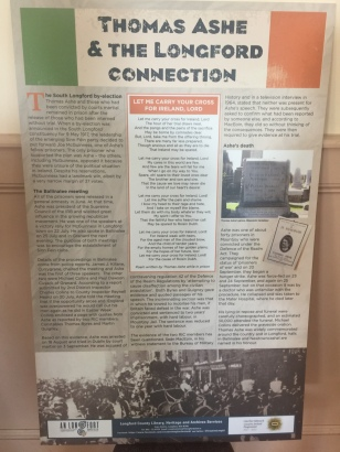 Thomas Ashe and the Longford Connection