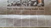 State Commemoration in Newspaper