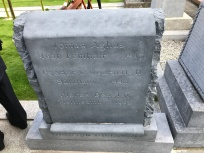 Thomas Ashe Grave Stone Irish side