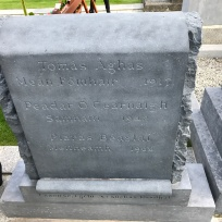 Thomas Ashe Grave Stone Irish side