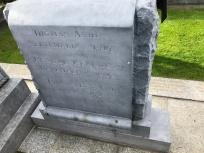 Thomas Ashe Grave Stone English side