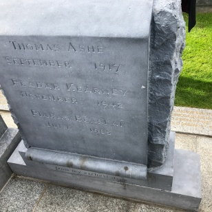 Thomas Ashe Grave Stone English side