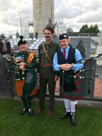 Pipers and Thomas Ashe