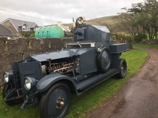 Sliabh na mBan. Michael Collins Armoured car