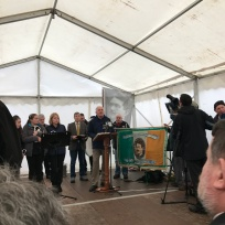 Thomas Ashe Commemoration Kinard David Ashe speaking