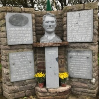 Thomas Ashe Commemoration Kinard. Thomas Ashe Bust added to monument