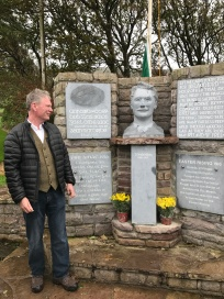 Thomas Ashe Commemoration Kinard. Paul Darcy sculpted the Thomas Ashe bust
