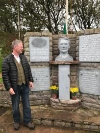 Thomas Ashe Commemoration Kinard. Paul Darcy sculpted the Thomas Ashe bust
