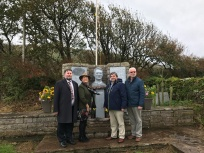 Thomas Ashe Commemoration Kinard. Members of Ashe Family