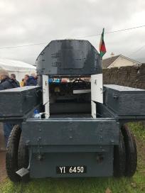 Sliabh na mBan Back. Michael Collins Armoured car