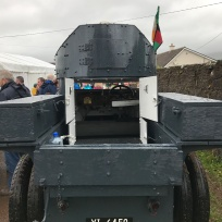 Sliabh na mBan Back. Michael Collins Armoured car