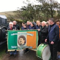 Thomas Ashe Irish Flag