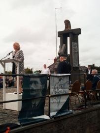 Regina Doherty speaking at Thomas Ashe Commemoration at Rath Cross Ashbourne