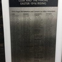 1916 Memorial Lusk Volunteers