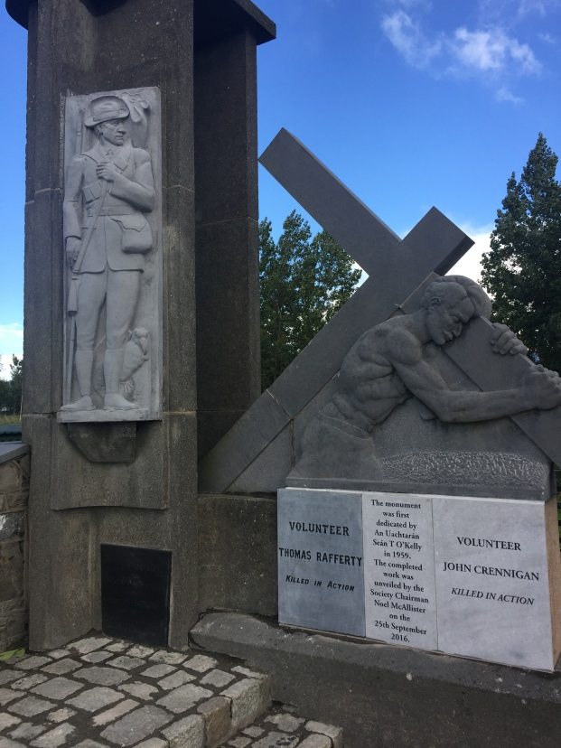 1916 Monument Ashbourne