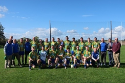Straffan GAA including Ashe Family members (wearing Dingle GAA jerseys)