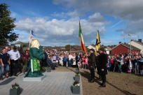 Before Thomas Ashe Statue at Round Towers GAA