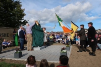 Thomas Ashe Statue being unveiled