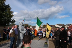 Thomas Ashe Statue Unveiled.